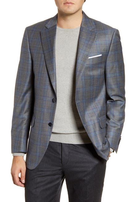 Image of Peter Millar Flynn Classic Fit Plaid Wool Sport Coat