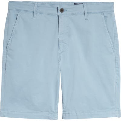 Ag Wanderer Modern Slim Fit Print Twill Shorts, Blue