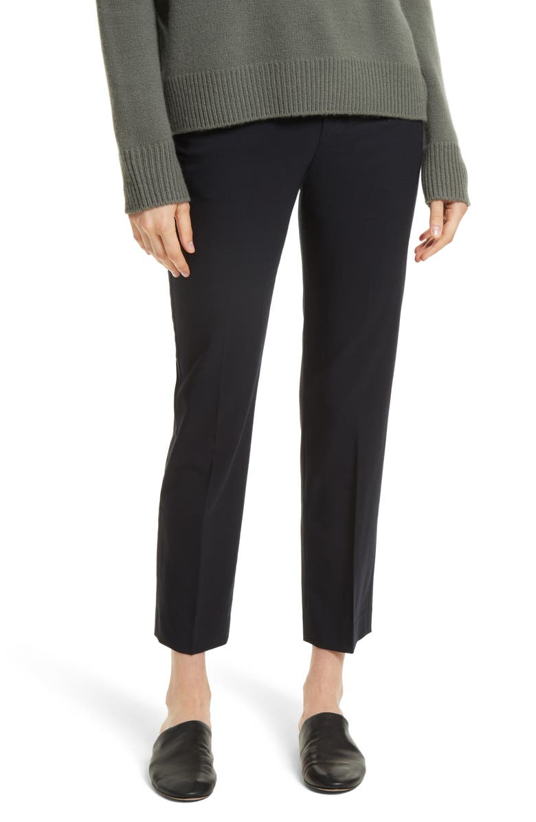 VINCE Tapered Ankle Trousers, Main, color, COASTAL