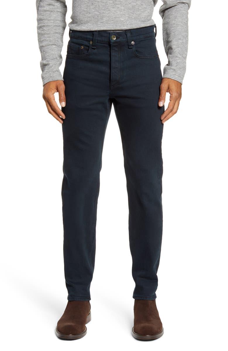 RAG & BONE Fit 2 Slim Fit Jeans, Main, color, BLACKENED NAVY