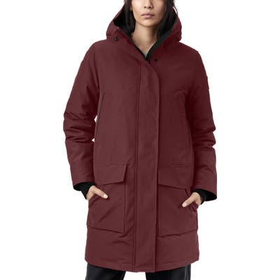 Canada Goose Canmore 625 Fill Power Down Parka, (6-8) - Purple