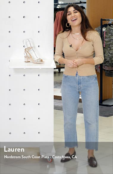 Badgley Mischka Jada Embellished Sandal, sales video thumbnail