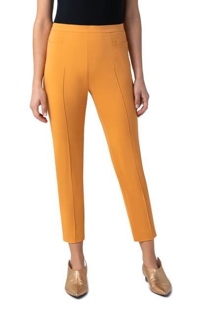 Akris Punto FRANCA TECHNO COTTON BLEND ANKLE PANTS
