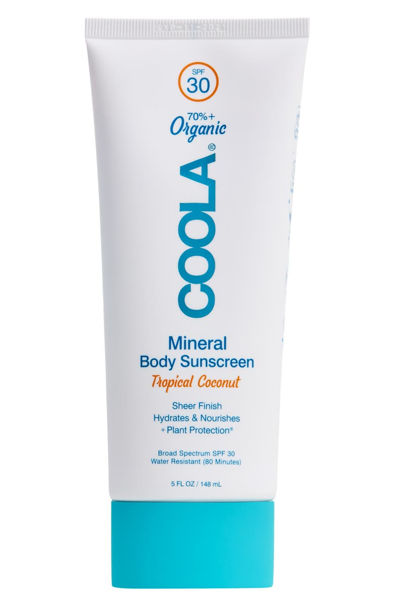 COOLA<SUP>®</SUP> Suncare Mineral Body Sunscreen Tropical Coconut SPF 30, Main, color, NO COLOR