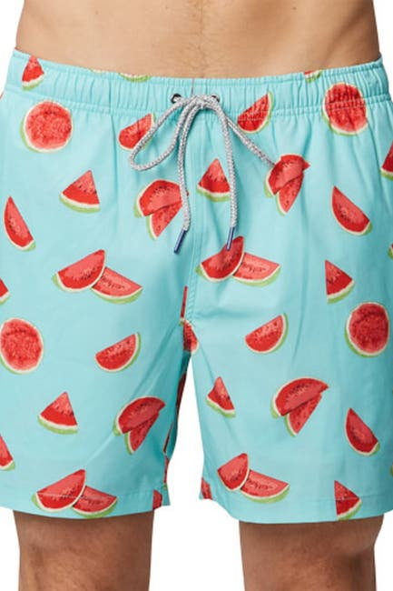 Image of Rainforest One in a Melon Swim Trunks