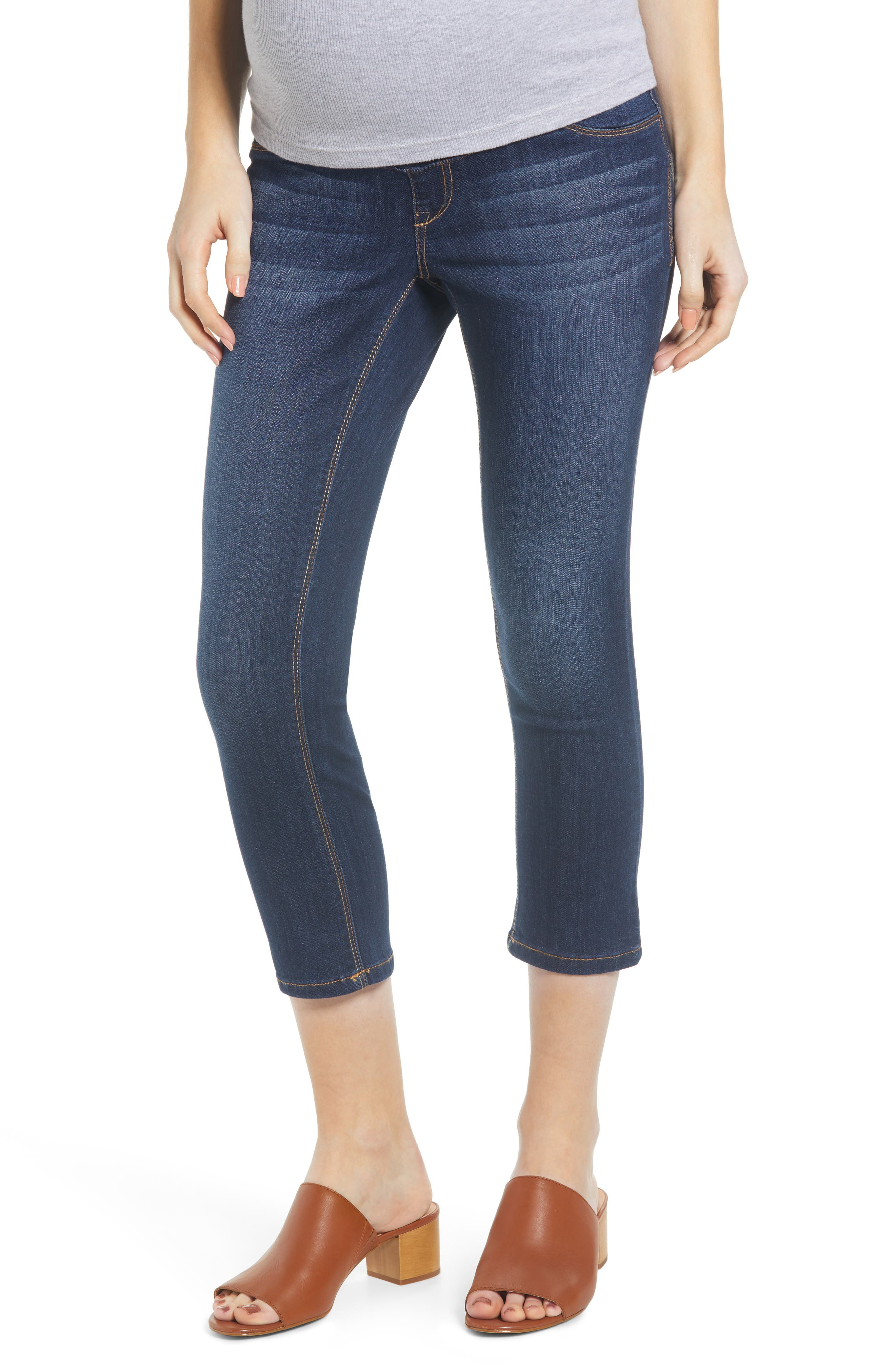 785b569b16c0b Women's 1822 Denim Crop Maternity Skinny Jeans