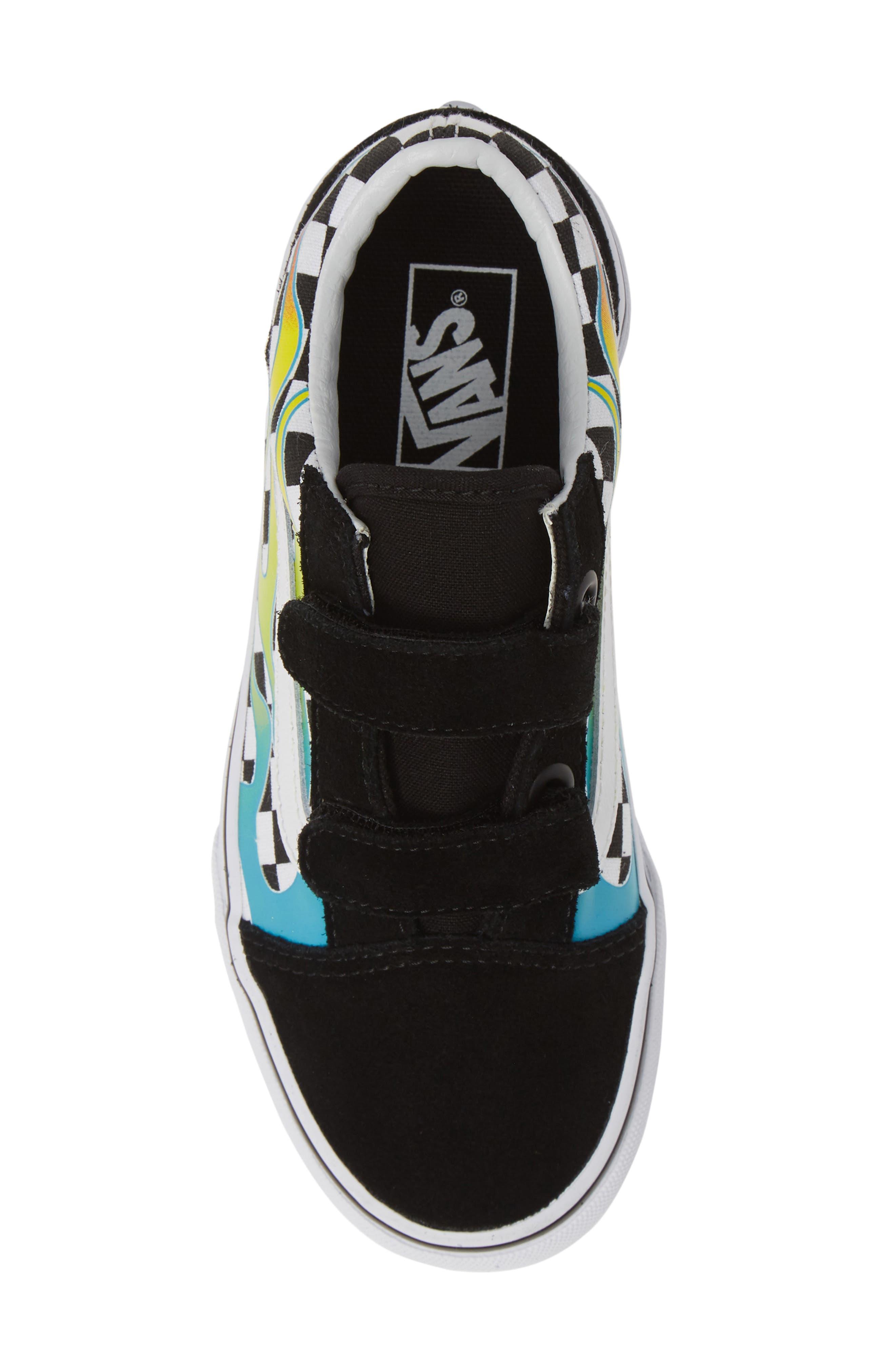 ,                             Old Skool V Sneaker,                             Alternate thumbnail 5, color,                             SCUBA BLUE/ BLACK