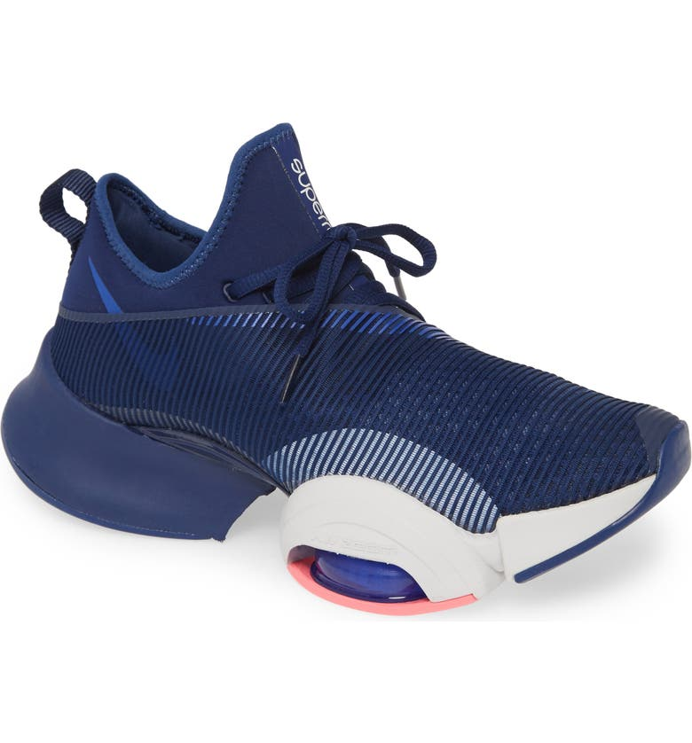 NIKE Air Zoom SuperRep Training Shoe, Main, color, BLUE/ BLACK/ GREY/ PURPLE
