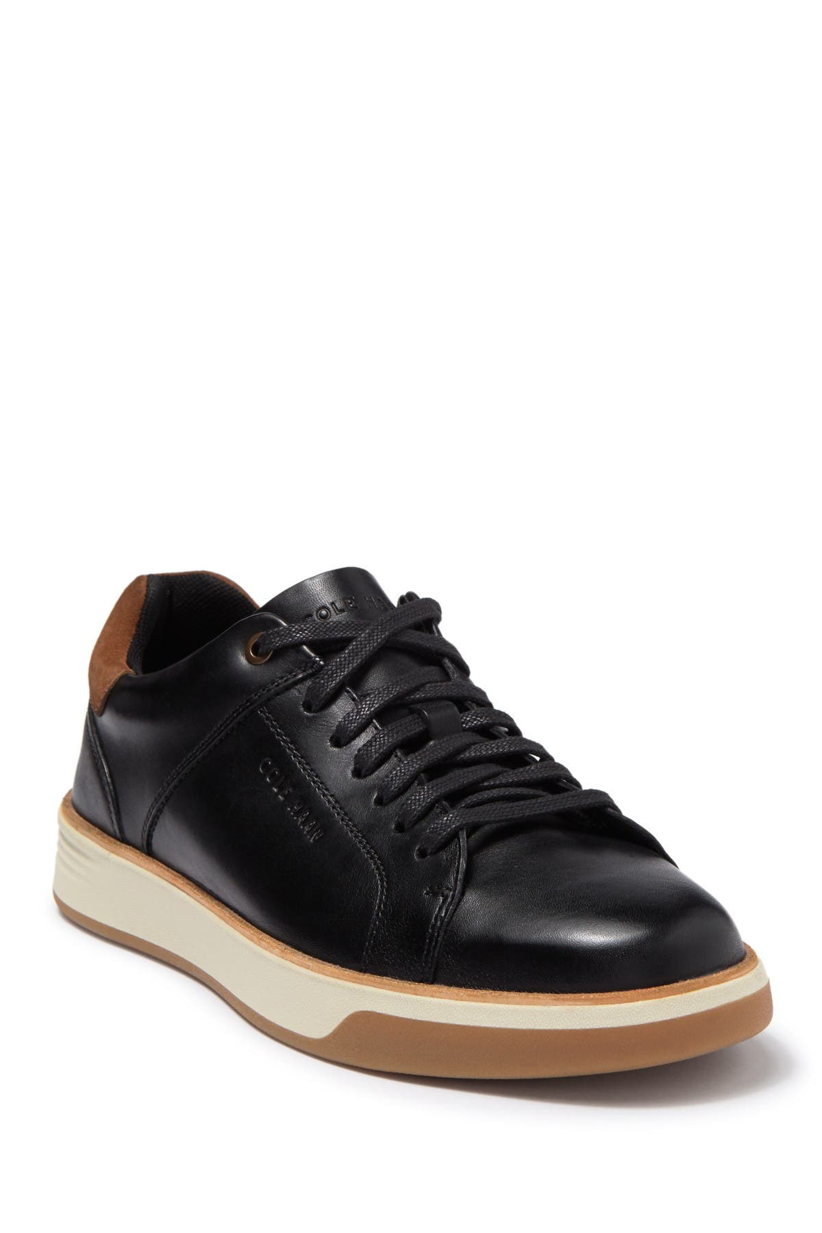 Image of Cole Haan Grand Crosscourt Craft Leather Sneaker