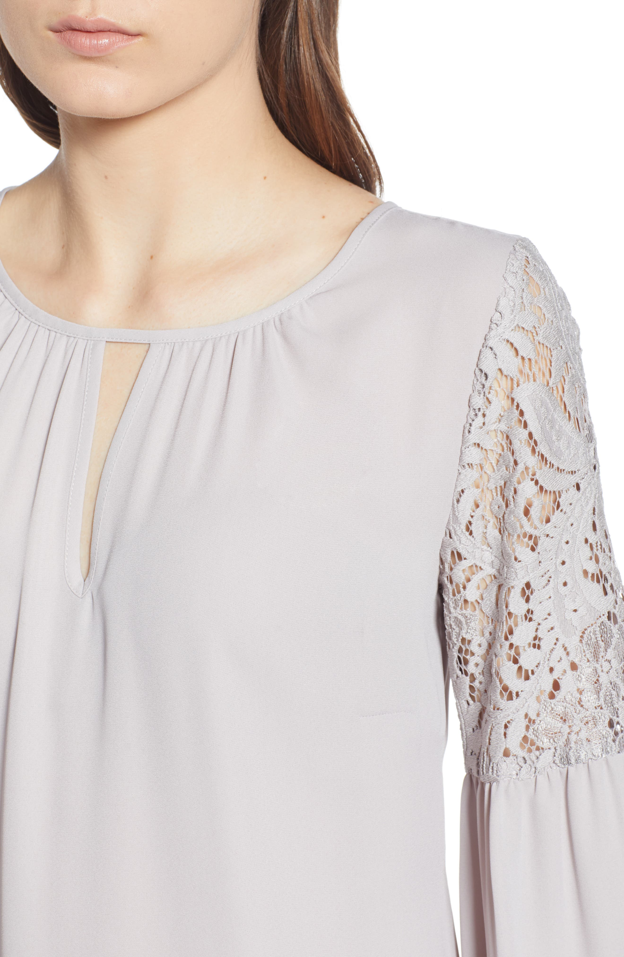 ,                             Lace Bell Sleeve Top,                             Alternate thumbnail 11, color,                             050