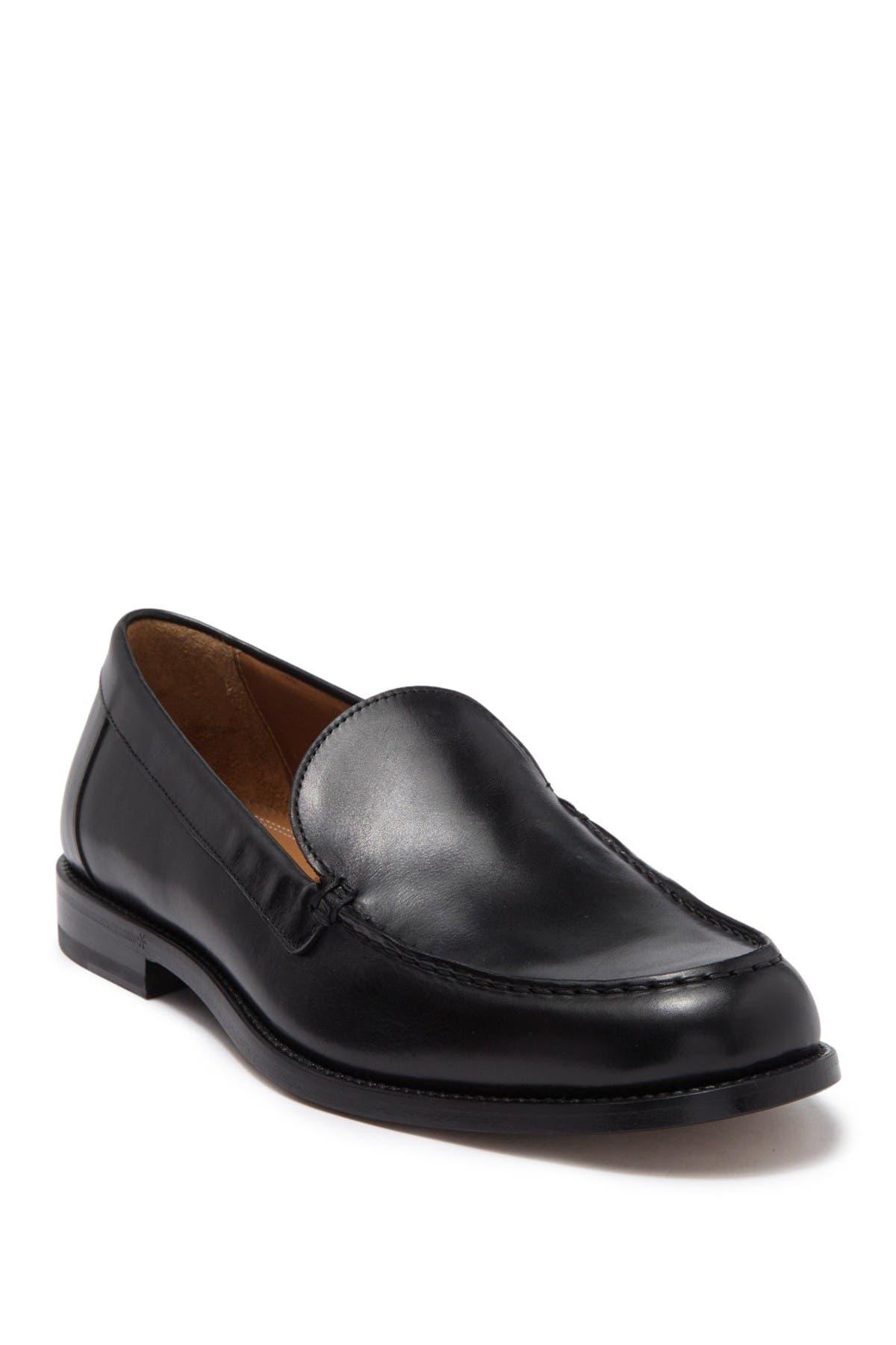 Image of Antonio Maurizi Leather Venetian Loafer