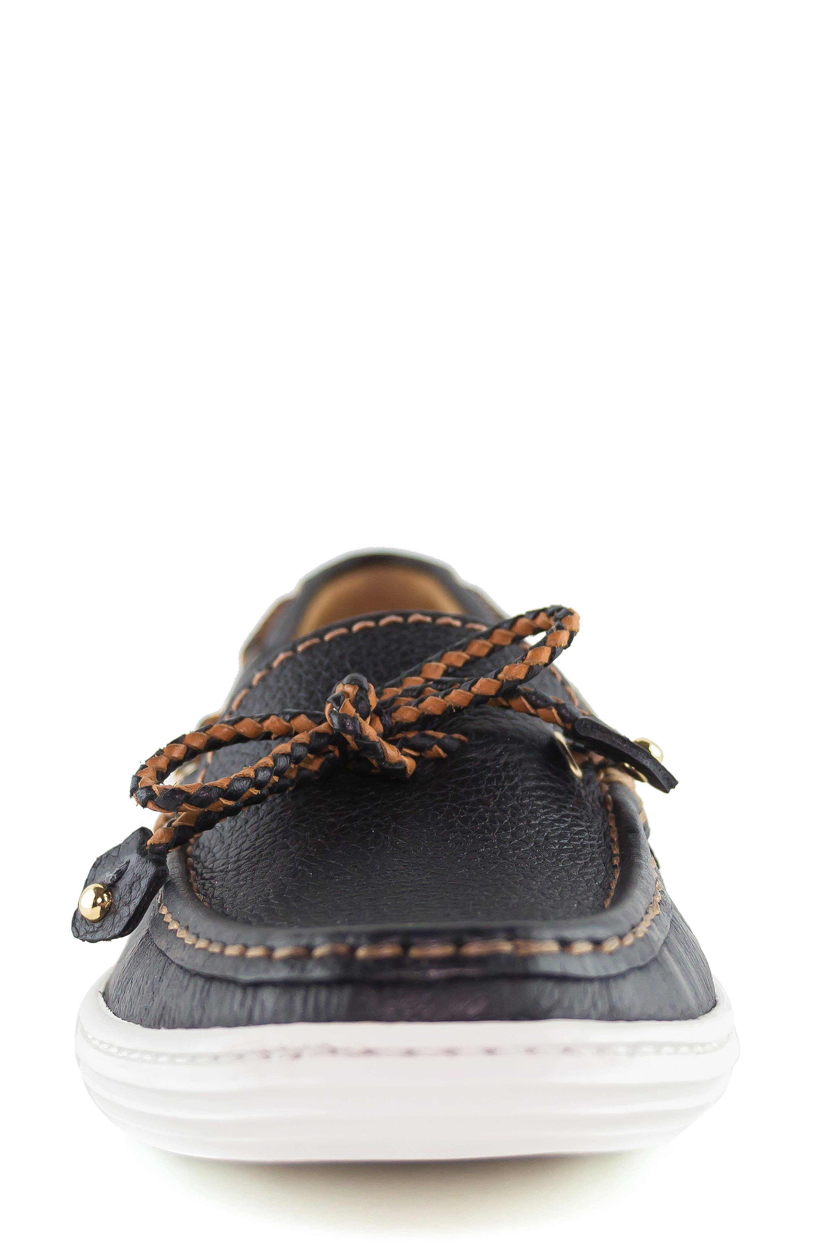,                             Pacific Loafer,                             Alternate thumbnail 4, color,                             BLACK LEATHER