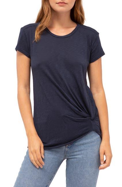 Image of Stateside Twist Slub Knit T-Shirt