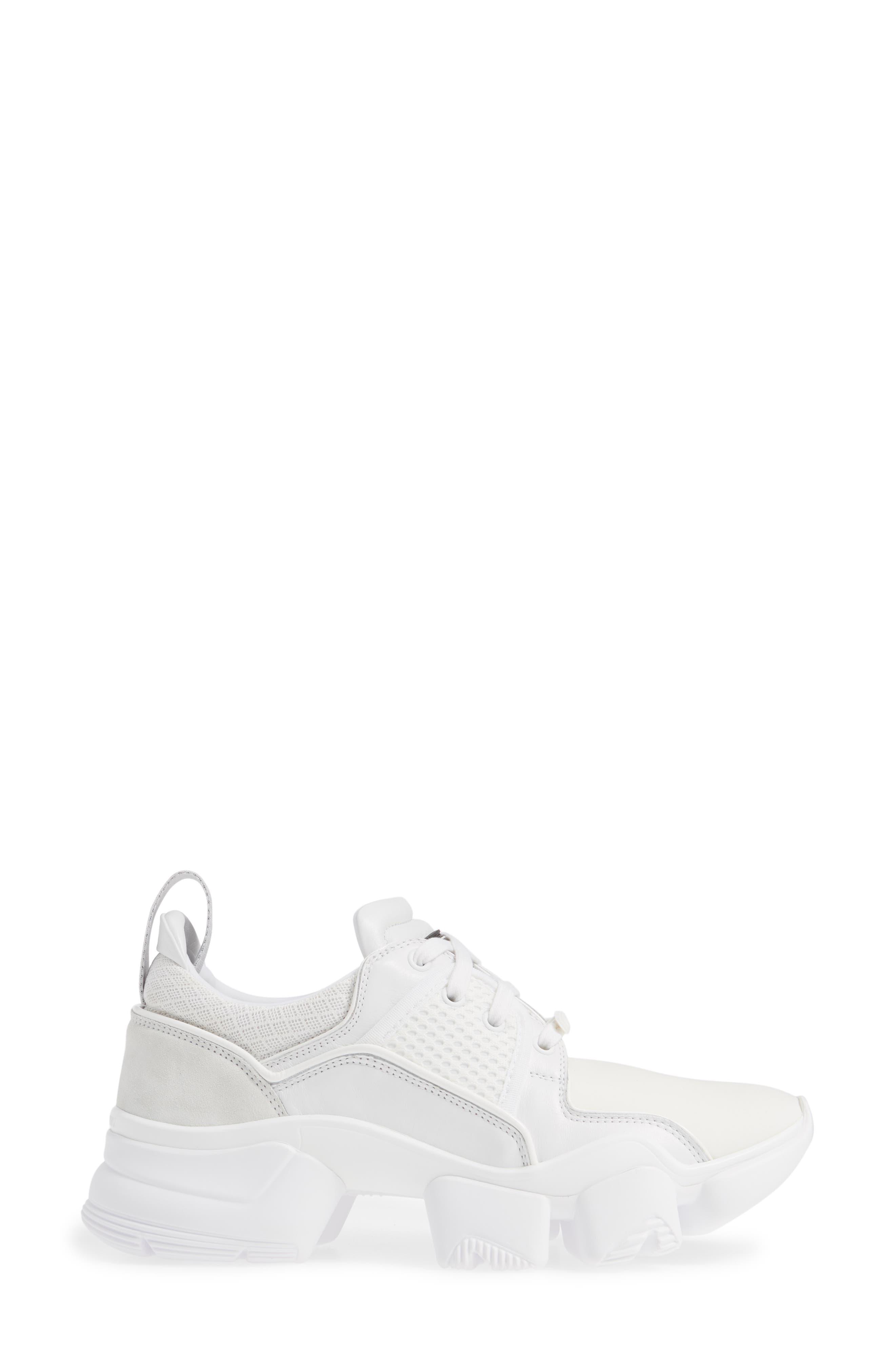 ,                             Jaw Sneaker,                             Alternate thumbnail 3, color,                             WHITE