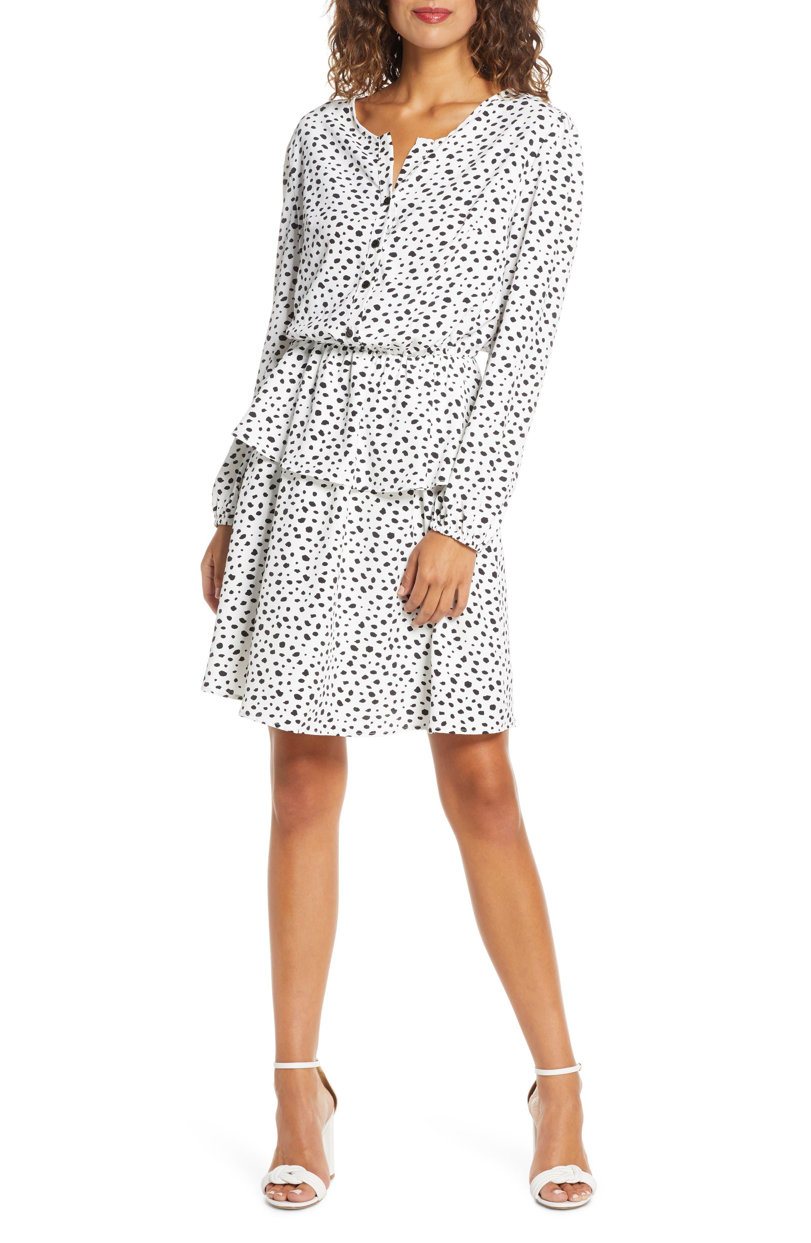 Image of Fraiche By J Dori Printed Tiered Dress