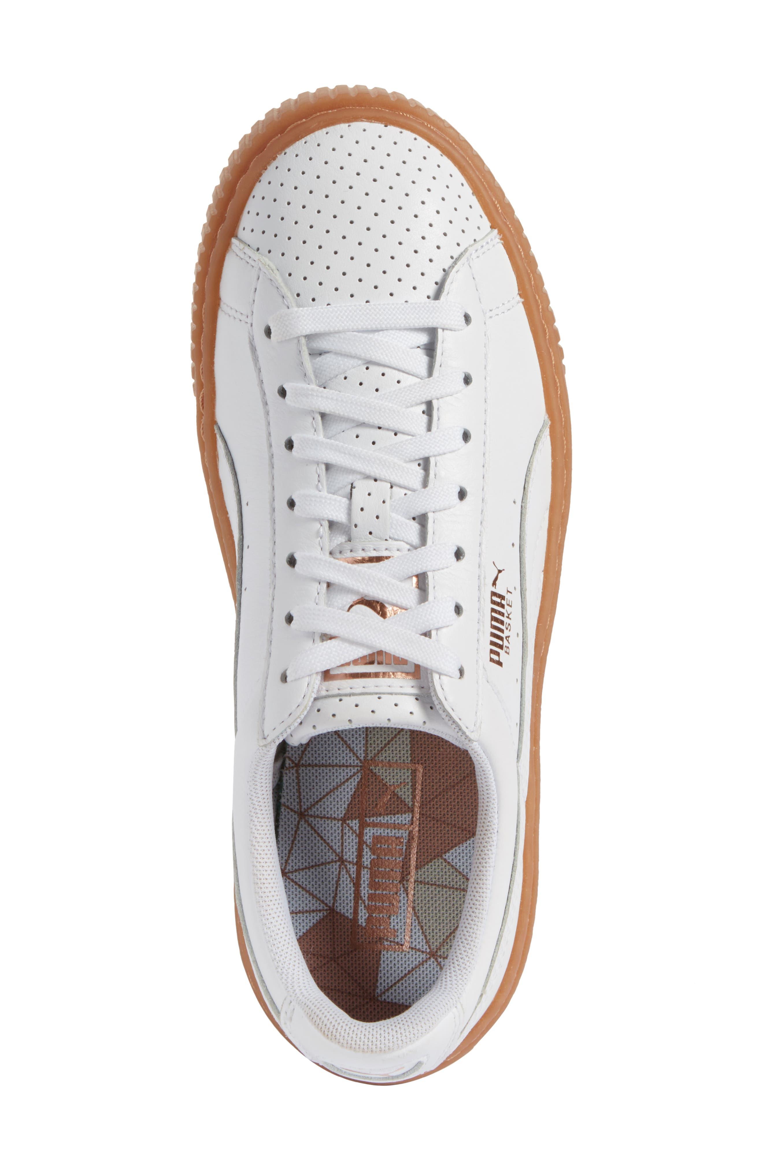 ,                             Basket Platform Sneaker,                             Alternate thumbnail 11, color,                             100