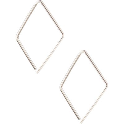 Kris Nations Kite Hoop Earrings