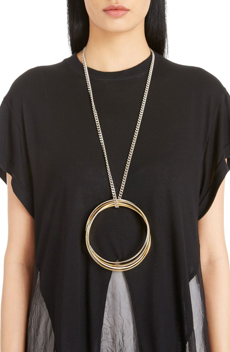 45c12aaea505d Givenchy Multi Ring Necklace | Nordstrom