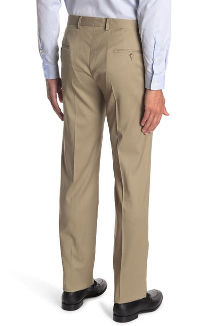 Image of Hickey Freeman Wool Modern Fit Trousers