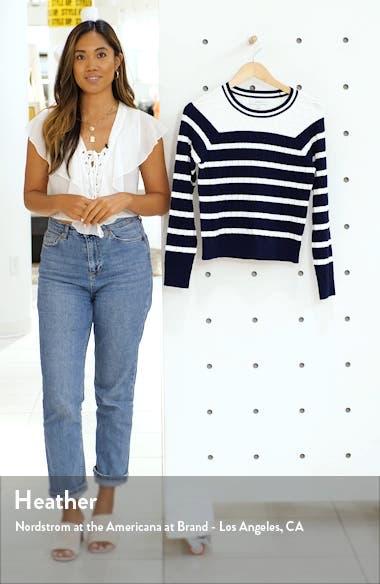 Texture Stitch Stripe Sweater, sales video thumbnail