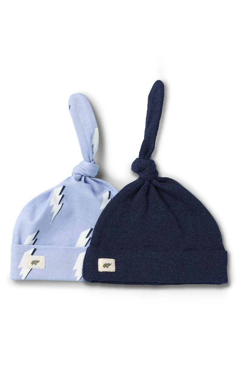 MONICA + ANDY 2-Pack Top Knot Cap, Main, color, 400