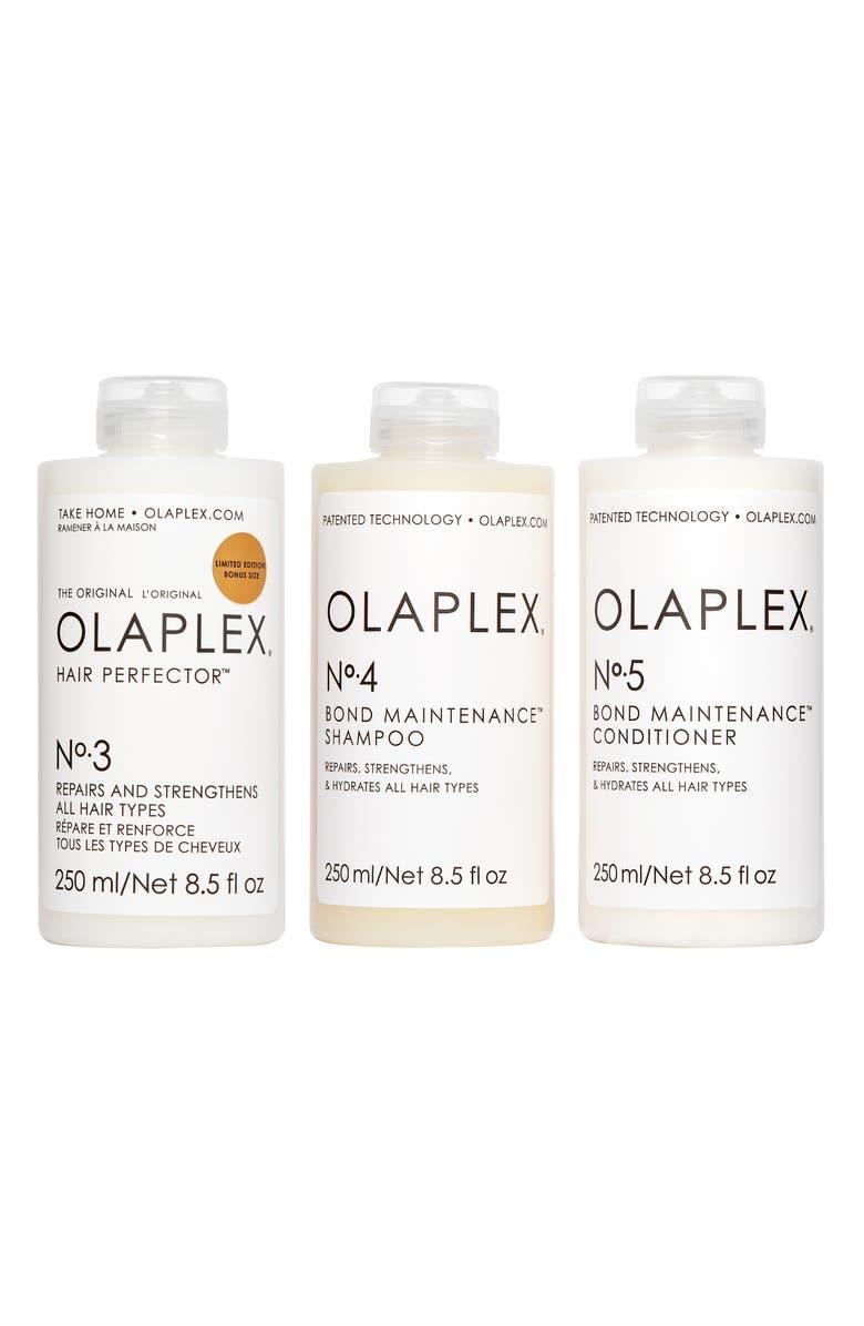 OLAPLEX Bond Maintenance System Set, Main, color, 000