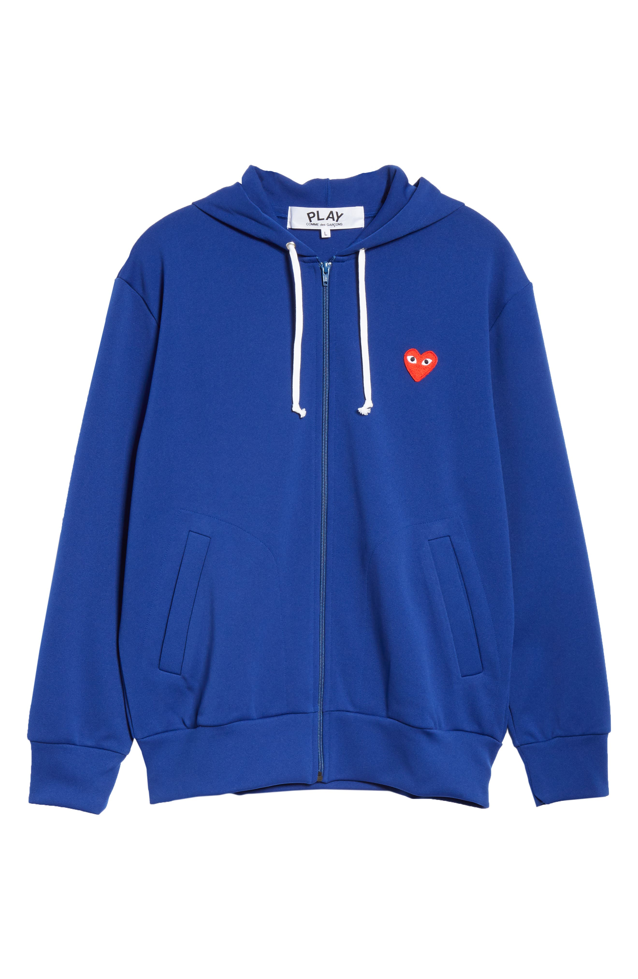 ,                             Zip-Up Hoodie,                             Alternate thumbnail 6, color,                             NAVY