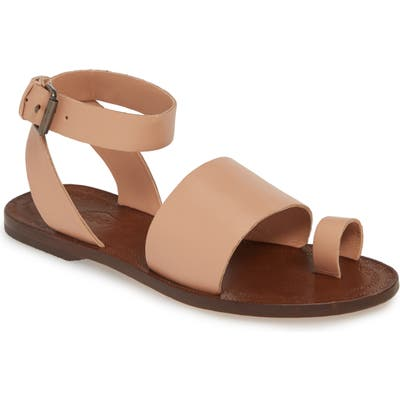 Free People Torrence Ankle Wrap Sandal, Pink