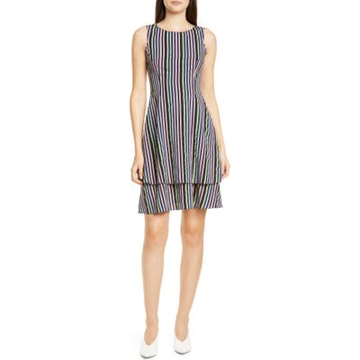 Hugo Kalomi Fit & Flare Dress, Pink