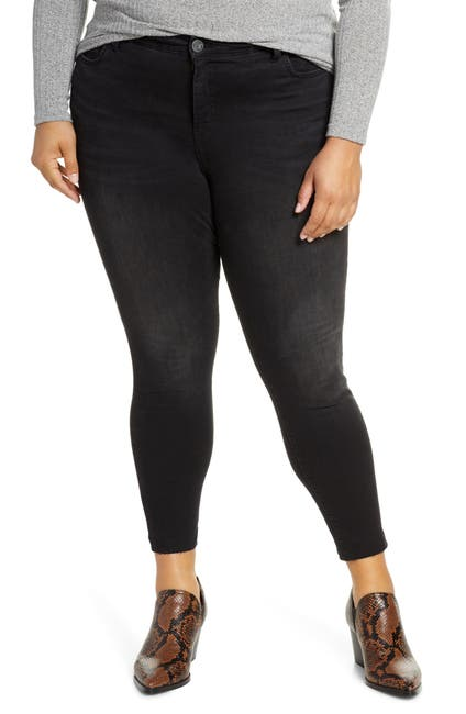 Image of KUT from the Kloth Donna High Rise Ankle Skinny Jeans