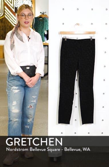 Simone Jacquard Slim Ankle Pants, sales video thumbnail