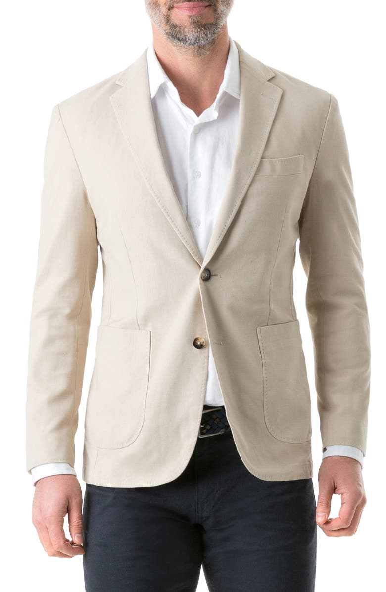 RODD & GUNN Hyde Regular Fit Sport Coat, Main, color, SAND