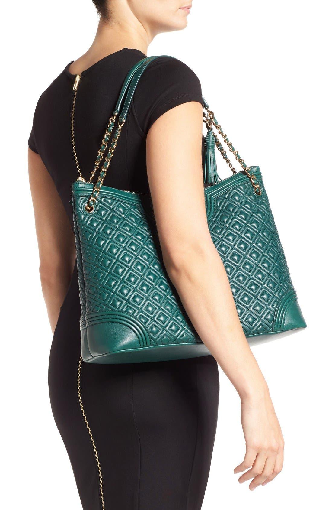 ,                             'Fleming' Leather Shoulder Bag,                             Alternate thumbnail 18, color,                             318