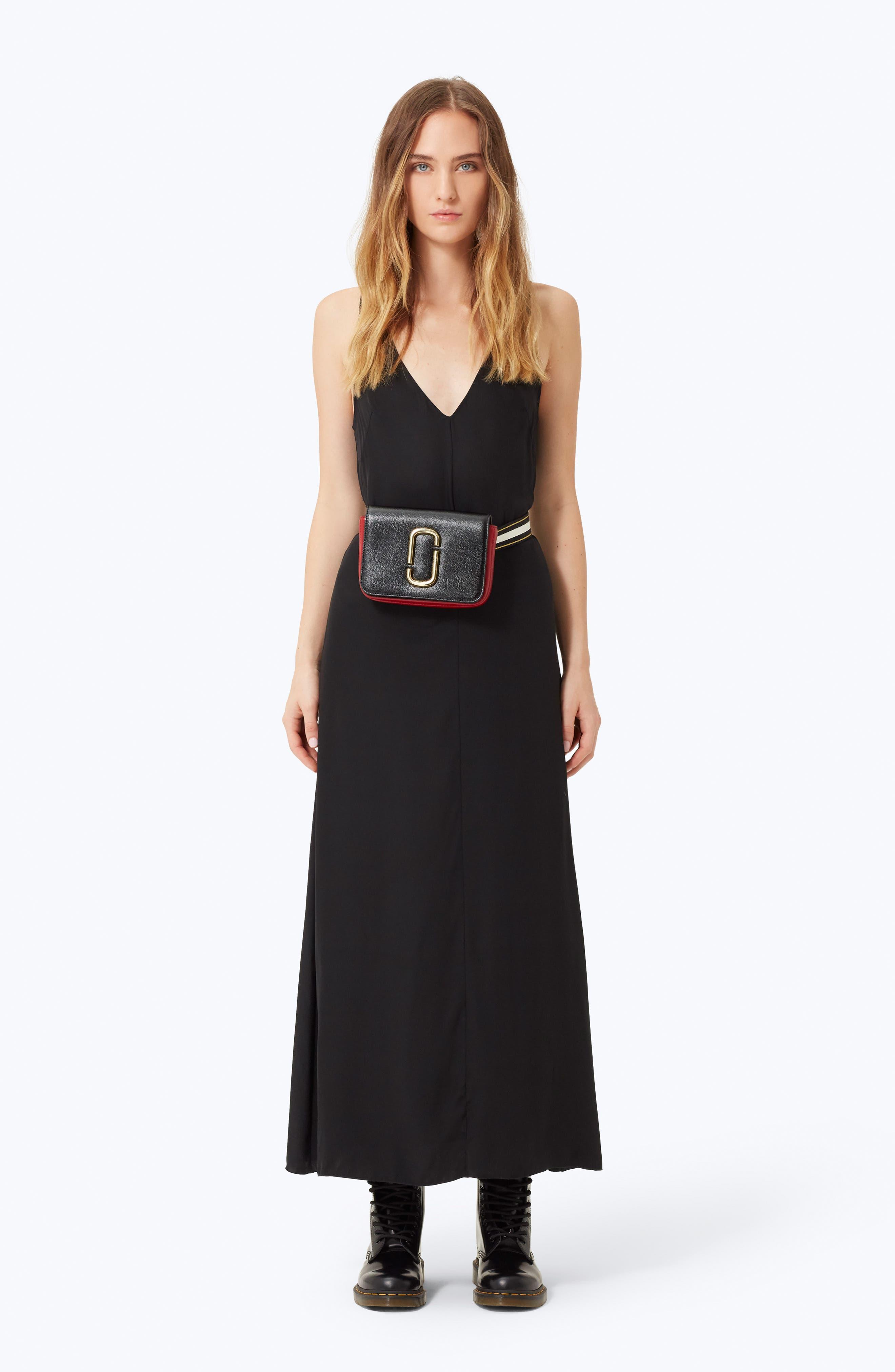 ,                             Hip Shot Convertible Crossbody Bag,                             Alternate thumbnail 2, color,                             BLACK/ RED