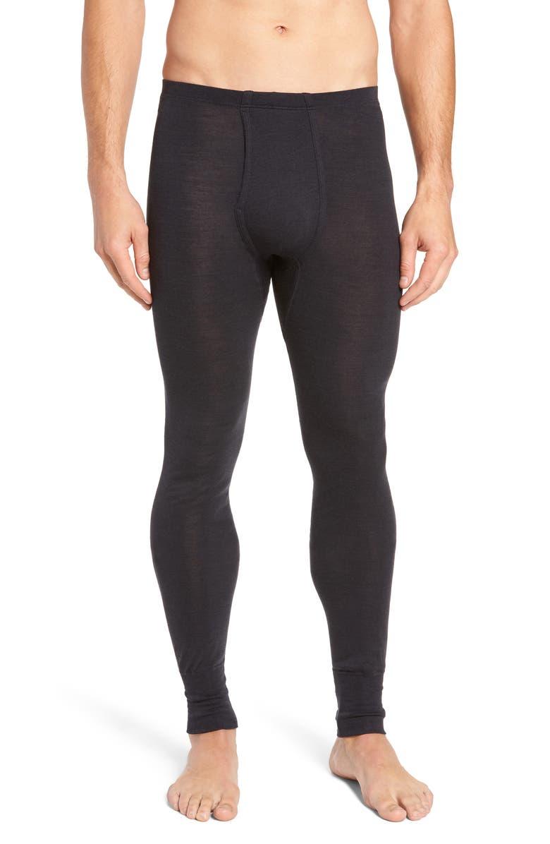 HANRO Wool & Silk Long Underwear, Main, color, 021