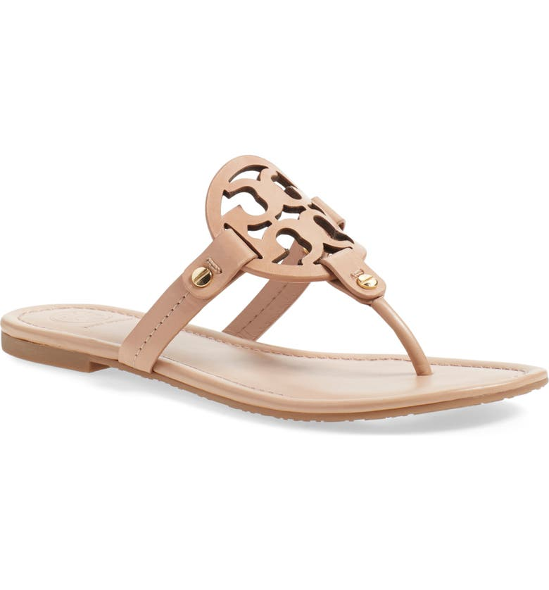 TORY BURCH Miller Flip Flop, Main, color, MAKEUP