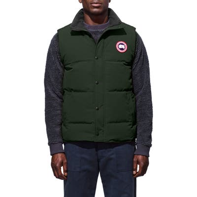 Canada Goose Garson Regular Fit Quilted Down Vest, Grey