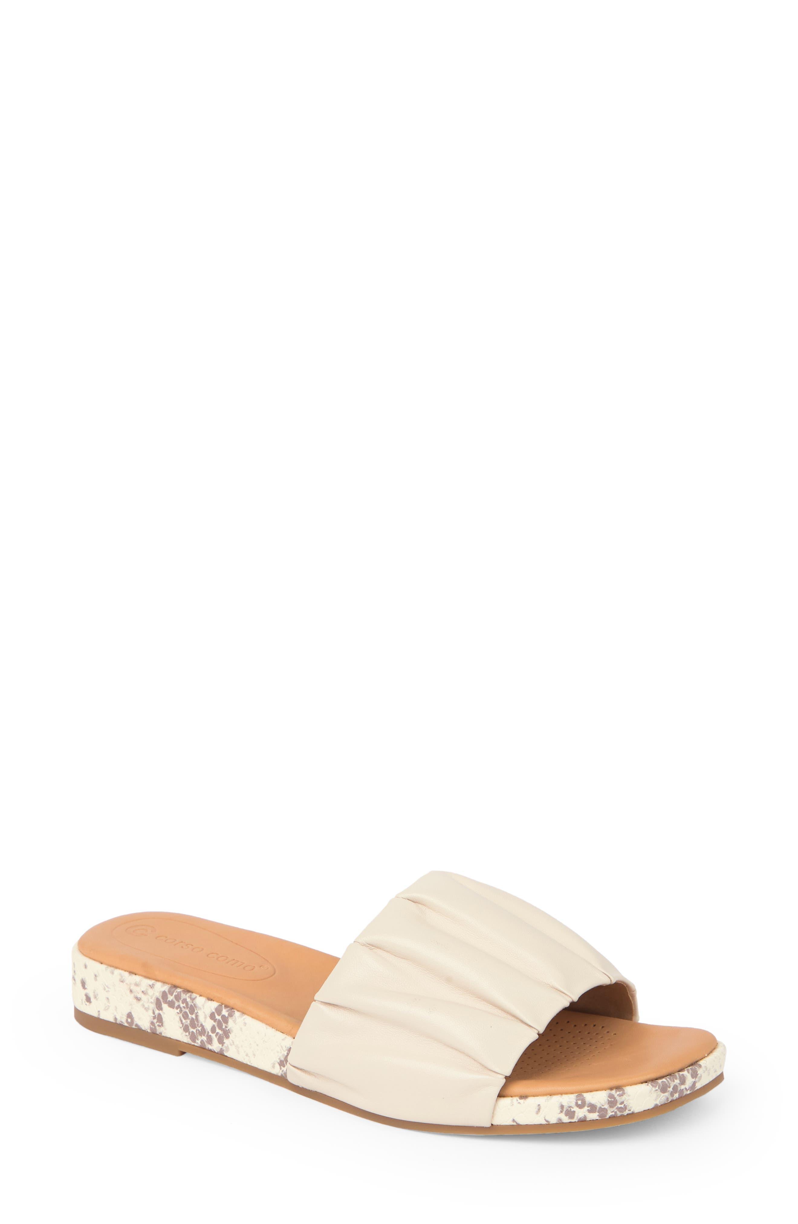 Harisya Wedge Slide Sandal