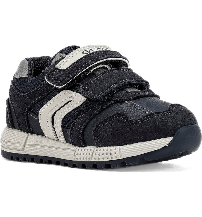 GEOX Alben 4 Sneaker, Main, color, NAVY/ GREY
