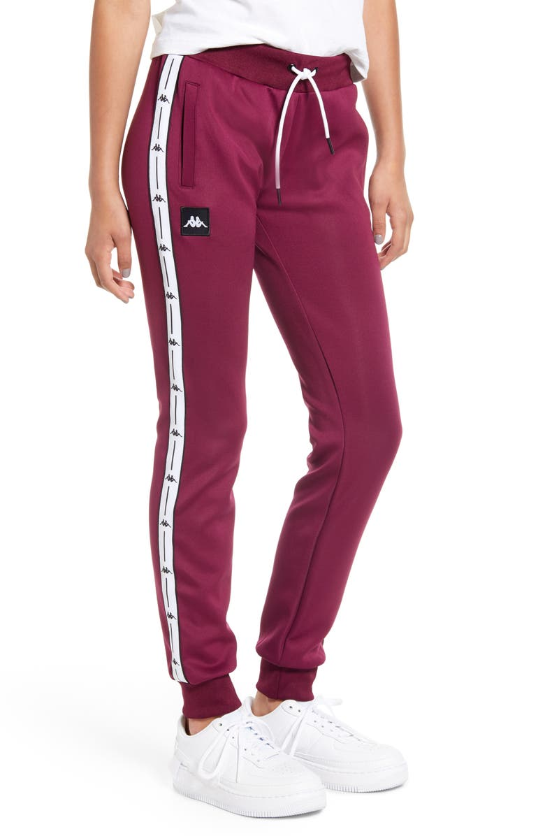 KAPPA Banda Logo Stripe Jogger Pants, Main, color, 500