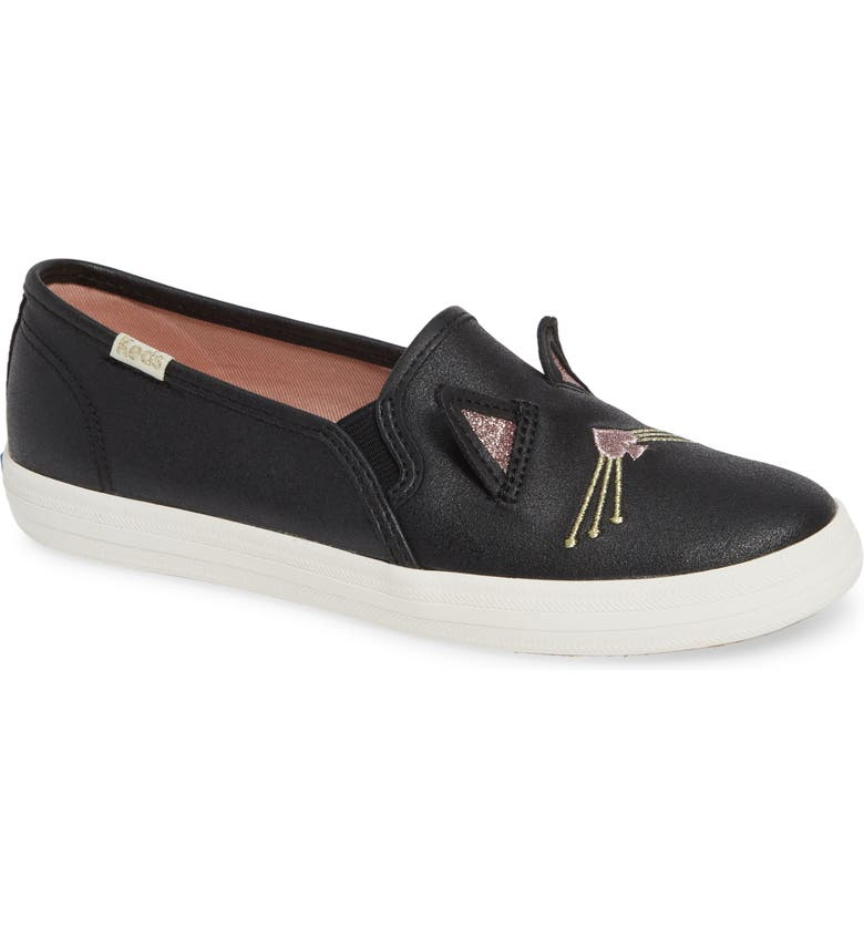 KEDS<SUP>®</SUP> x kate spade new york Double Decker Sneaker, Main, color, HAYDEN CAT