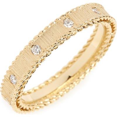 Roberto Coin Diamond Princess Ring