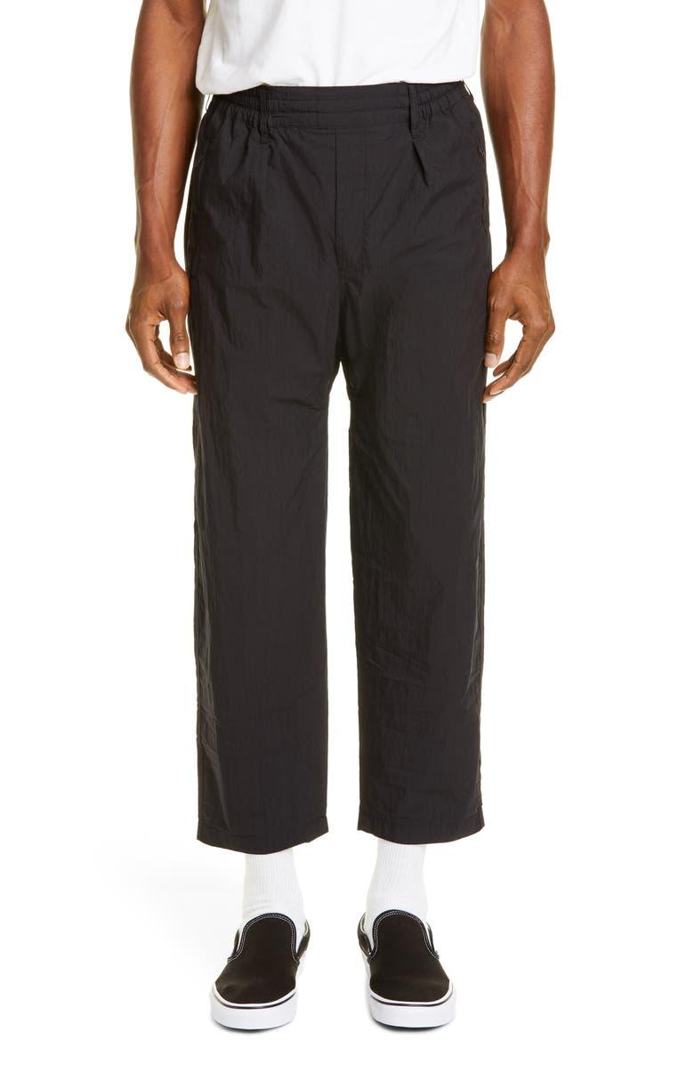 KSUBI Kserenity Cotton & Nylon Ankle Pants, Main, color, BLACK