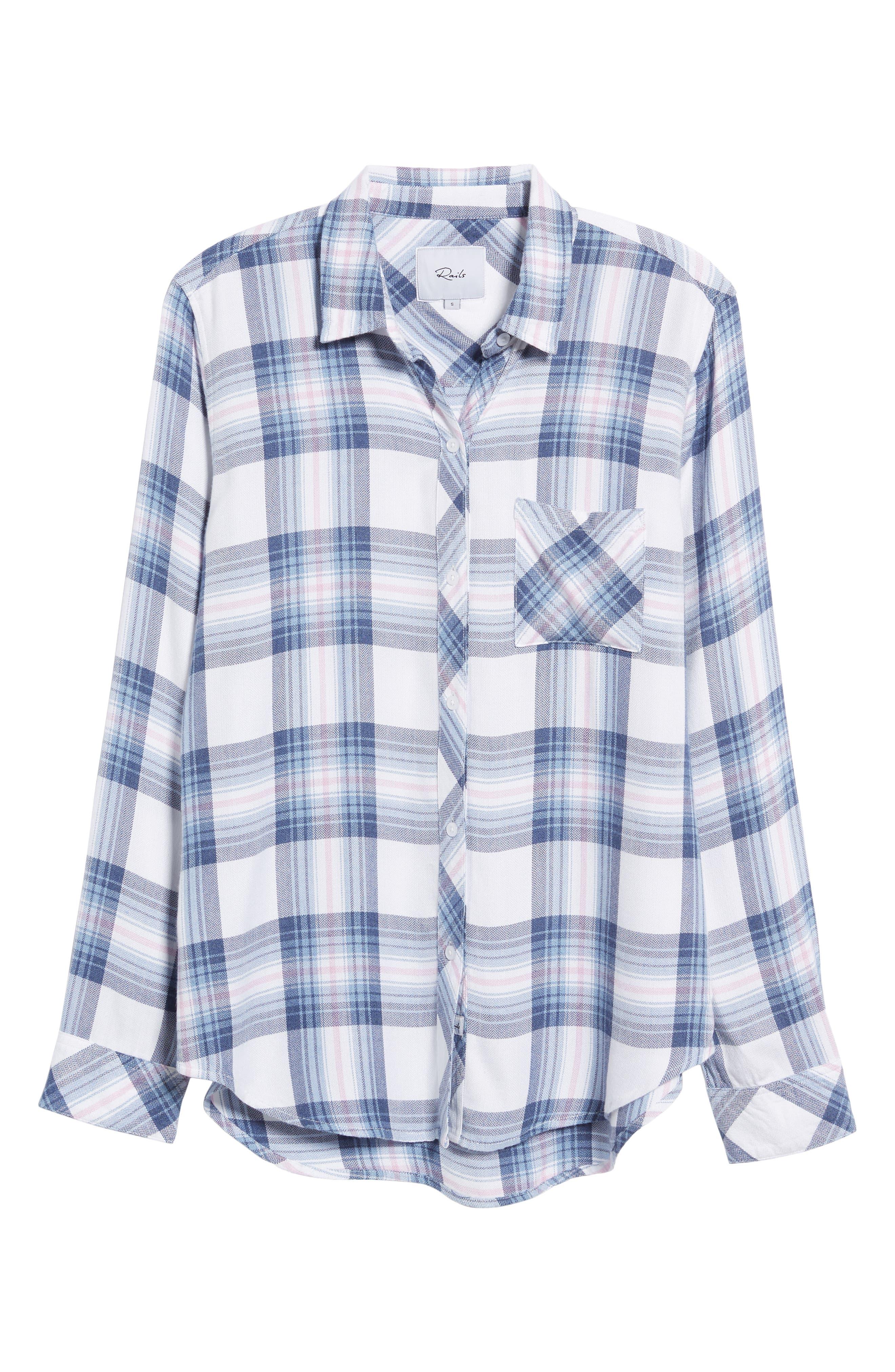,                             Hunter Plaid Shirt,                             Alternate thumbnail 827, color,                             435