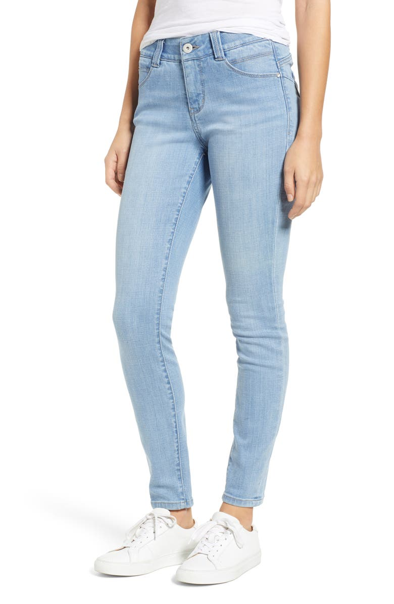 JAG JEANS Cecilia Skinny Jeans, Main, color, ISLAND BLUE