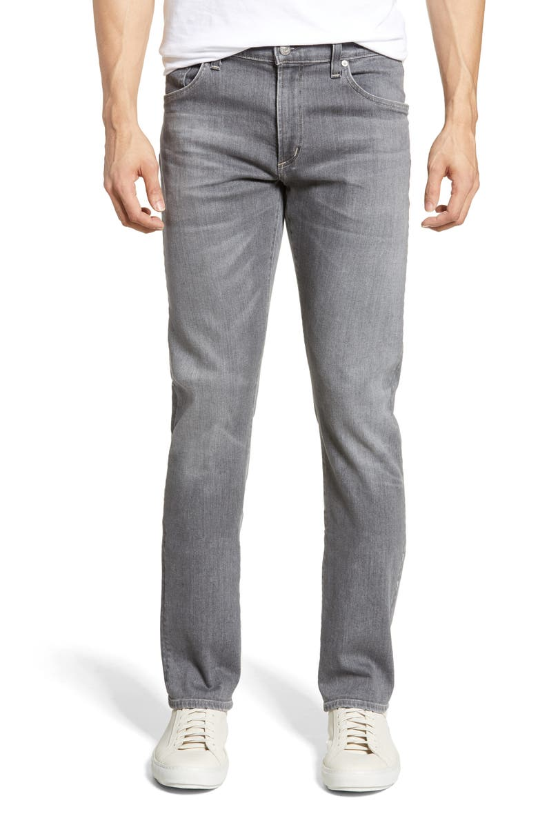 CITIZENS OF HUMANITY Gage Slim Straight Leg Jeans, Main, color, GREYHOUND