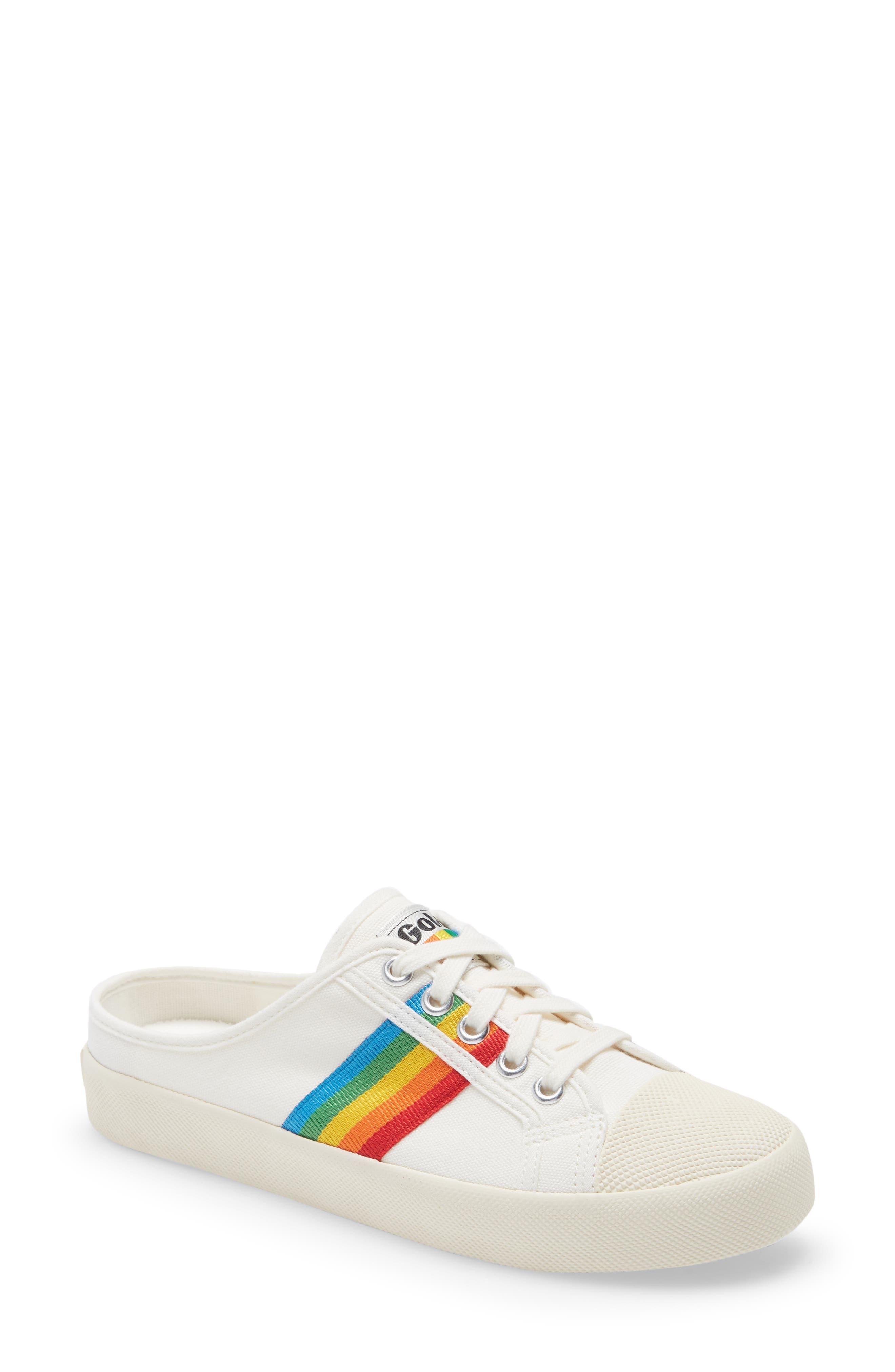 Coaster Rainbow Sneaker Mule