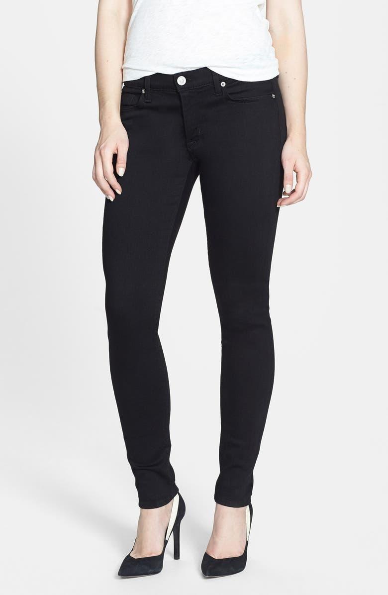 HUDSON JEANS 'Krista' Super Skinny Jeans, Main, color, 001
