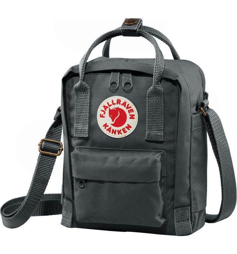 FJÄLLRÄVEN Kånken Sling Crossbody Bag, Main, color, GRAPHITE