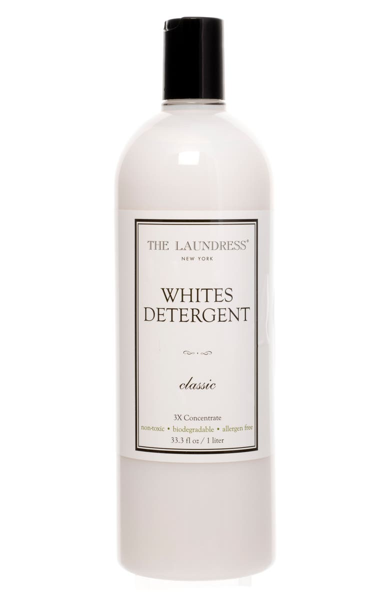 THE LAUNDRESS Classic Whites Detergent, Main, color, WHITE
